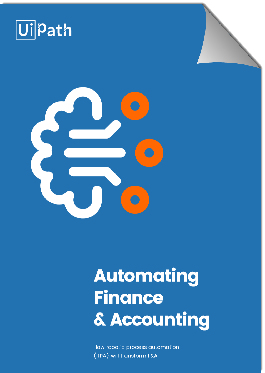 UiPath How RPA will Transform Finance and Accounting Cover-page curl