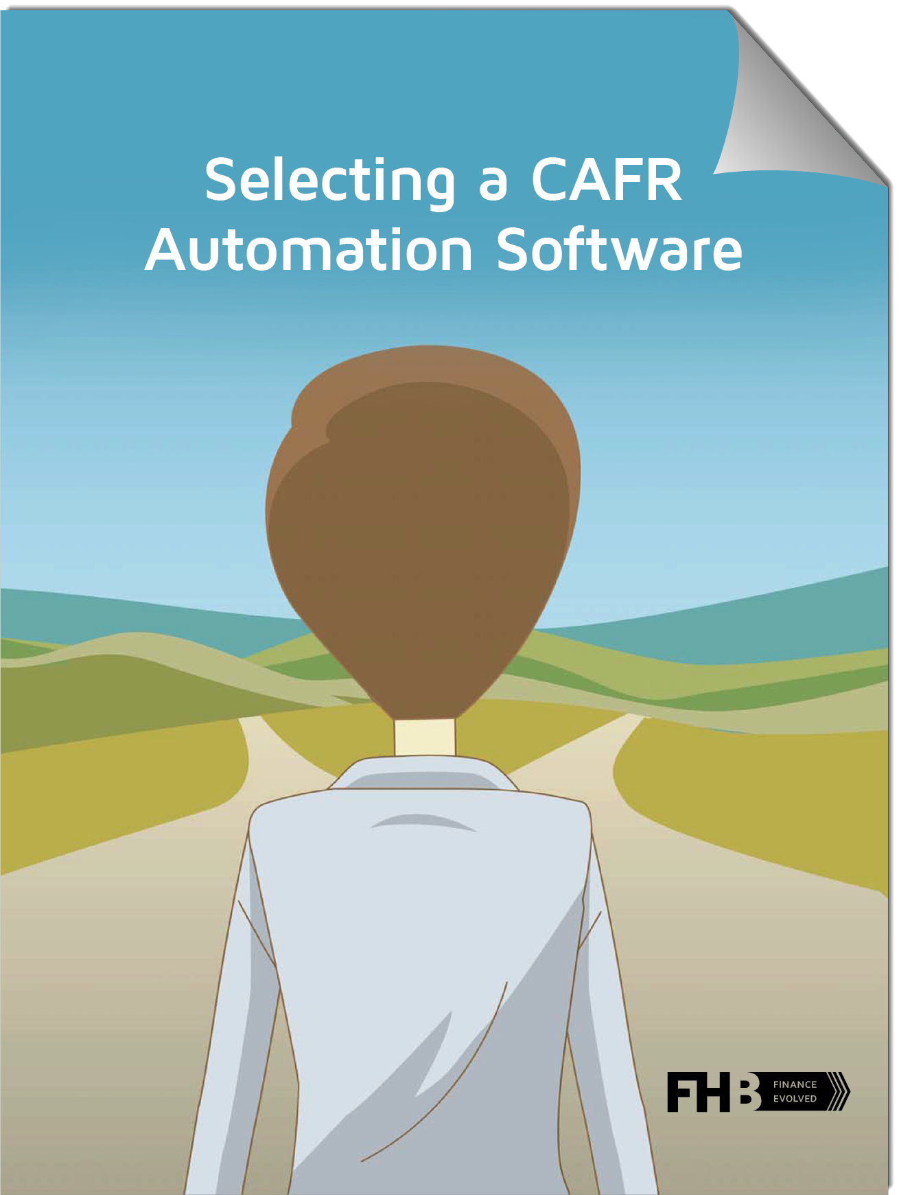 eBook CAFR Cover with title CTA Page Curl v1